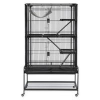 Prevue Pet Products Deluxe Critter Cage in Black
