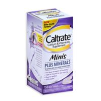 Caltrate® 150-Count Calcium and Vitamin D3 Minis Plus Minerals Tablets