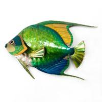Queen Angelfish Metal Wall Sculpture