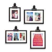 Umbra® Clipper 4-Frame Gallery Set in Black