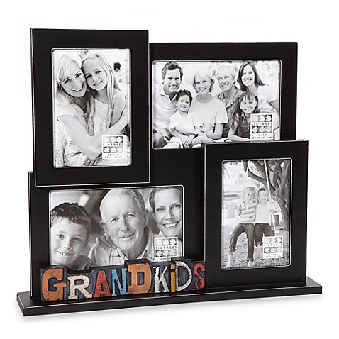 Sixtrees Grandkids 4 Opening Word Photo Collage Bed Bath