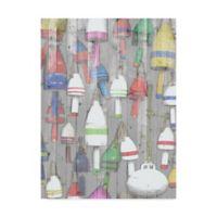 Trademark Fine Art Dockside I 18-Inch x 24-Inch Canvas Wall Art