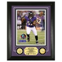 NFL Ray Lewis Hall of Fame Induction Day Bronze Coin Photo Mint