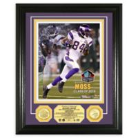 NFL Randy Moss Hall of Fame Induction Day Bronze Coin Photo Mint