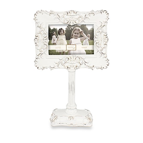frame vintage picture nickel pedestal michaels