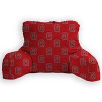 North Carolina State University Logo Backrest Pillow