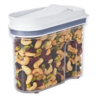OXO Good Grips® 25.6 oz. Clear Food Container with Dispenser Top in White