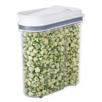 OXO Good Grips® 38.4 oz. Clear Food Container with Dispenser Top in White