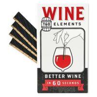 Time & Oak 4-Pack Oak Wine Elements