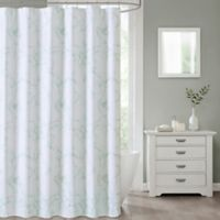Marble 70-Inch x 72-Inch Shower Curtain in Green