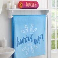 Morning Motivation Personalized Bath Towel