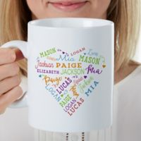 Close to Her Heart Personalized 30 Oz Coffee Mug