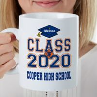 Cheers to the Graduate Personalized 30 Oz Coffee Mug