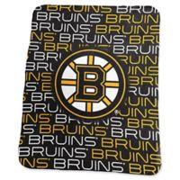 NHL Boston Bruins Classic Fleece Blanket