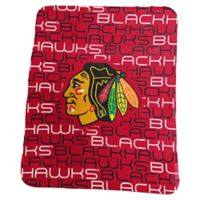 NHL Chicago Blackhawks Classic Fleece Blanket