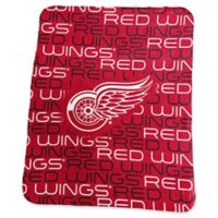 NHL Detroit Red Wings Classic Fleece Blanket