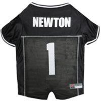 NFL Carolina Panthers Cam Newton Large Dog and Cat Football Jersey