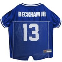 NFL New York Giants Odell Beckham Jr. Extra Large Dog and Cat Football Jersey