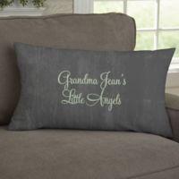 My Grandkids Personalized Lumbar Throw Pillow