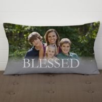 HOME Personalized Lumbar Throw Pillow