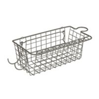 Spectrum™ Pegboard Basket and Tool Holder in Grey
