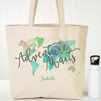 The Journey Personalized Canvas Tote