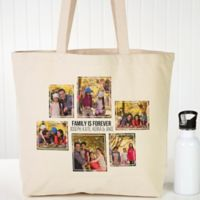 Six Photo Personalized Canvas Tote