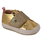 Jessica Simpson Size 3-6M Metallic High Top Shoes in Gold