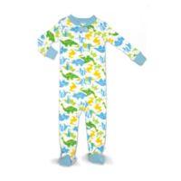 Rosie Pope® Size 12M Dinosaur Snug Fit Sleepwear