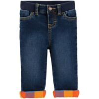OshKosh B'Gosh® Size 18-24M Riverdale Wash Lined Jeans in Blue