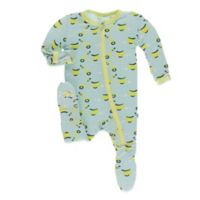 KicKee Pants® Newborn Sky Scooter Footie in Blue