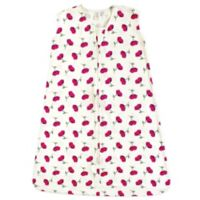 Touched by Nature Size 0-6M Petals Organic Cotton Sleeping Bag in Red