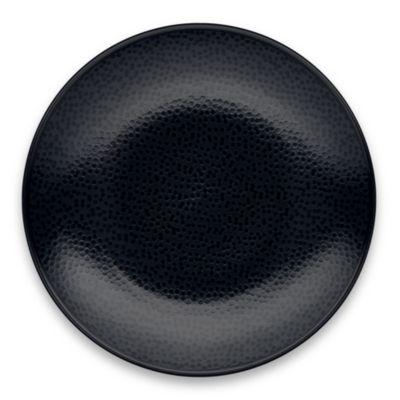 Noritake® Black on Black Snow Round Dinner Plate  sc 1 st  Bed Bath \u0026 Beyond & Buy Noritake® Black Dinner Plates from Bed Bath \u0026 Beyond