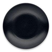 Noritake® Black on Black Snow Round Dinner Plate