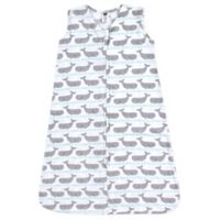 Hudson Baby® Size 0-6M Whale Sleeping Bag in Blue