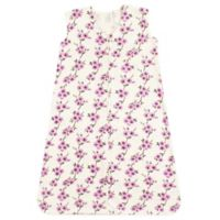 Touched by Nature Size 0-6M Cherry Blossom Organic Cotton Sleeping Bag