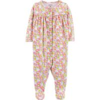 carter's® Size 3M Floral Long Sleeve Footie