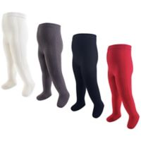 Hudson Baby® Size 9-18M 4-Pack Tights in Red
