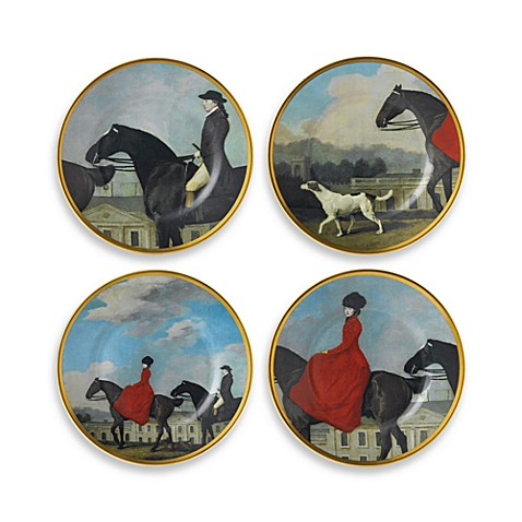 Wedgwood® Equestria 8-Inch Accent Plates (Set of 4)