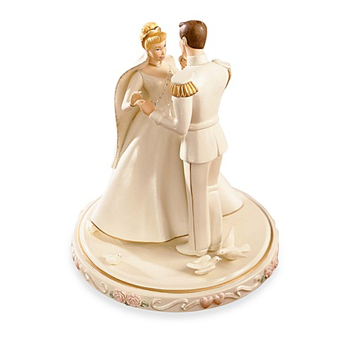 disney cinderella wedding cake toppers disney 174 by lenox 174 cinderella s wedding cake topper bed 13549