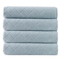 Enchante Home® Gracious 4-Piece Turkish Cotton Towel Set in Green