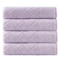 Enchante Home® Gracious 4-Piece Turkish Cotton Towel Set in Lilac