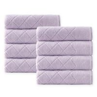 Enchante Home® Gracious 8-Piece Turkish Cotton Hand Towel Set in Navy