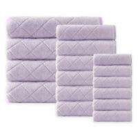 Enchante Home® Gracious 16-Piece Turkish Cotton Towel Set in Lilac