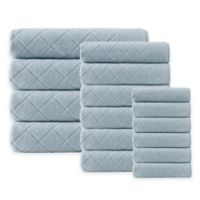 Enchante Home® Gracious 16-Piece Turkish Cotton Towel Set in Green