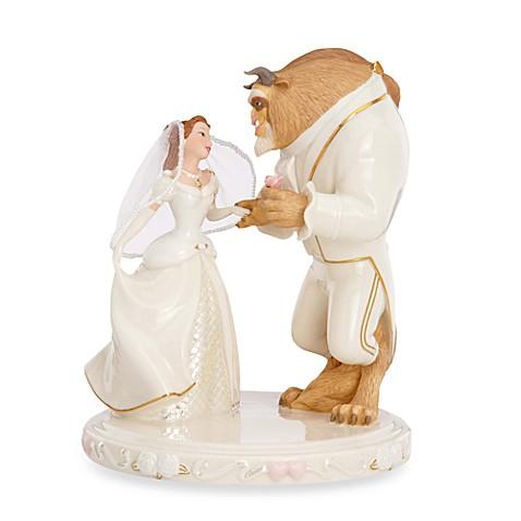 Disney S Belle S Wedding Dreams Cake Topper By Lenox