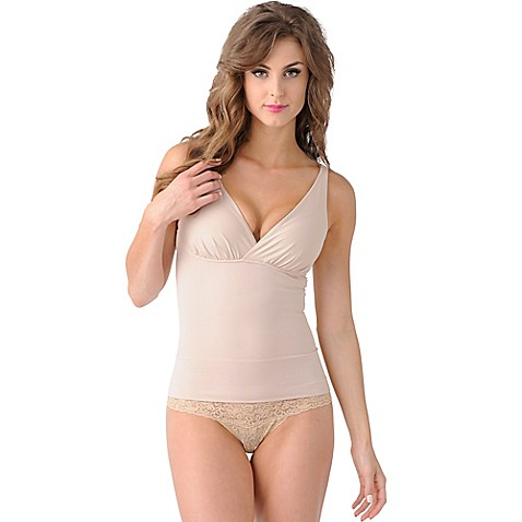 Belly Bandit® Mother Tucker™ Large Compression Nursing Tank in Nude