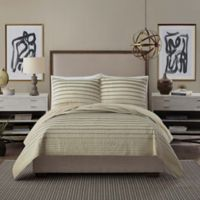 Ayesha Curry™ Variegated Stripe King Quilt in Linen