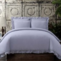 Voile Full/Queen Duvet Cover Set in Lavender
