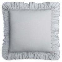 Voile European Pillow Sham in Grey
